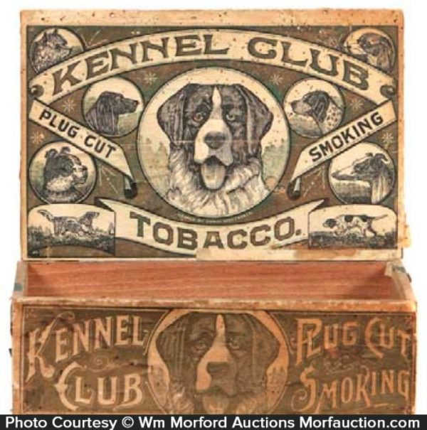 Kennel Club Tobacco Box