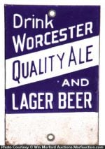 Worcester Ale and Beer Match Scratcher