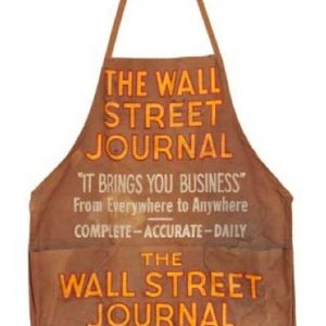 Wall Street Journal Apron