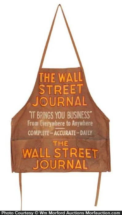 Wall Street Journal Apron