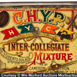 C.H.Y.P Inter-Collegiate Tobacco Tin