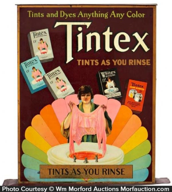 Tintex Dyes Cabinet