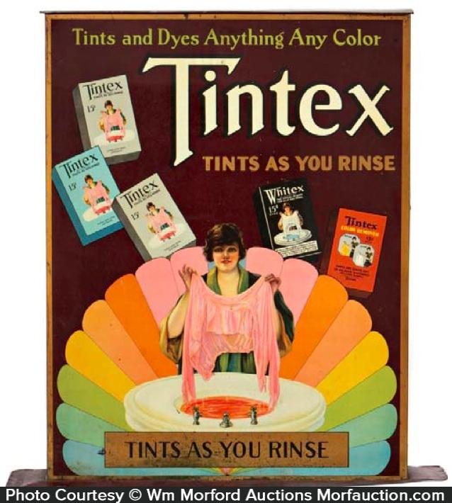 Tintex Dyes Cabinet