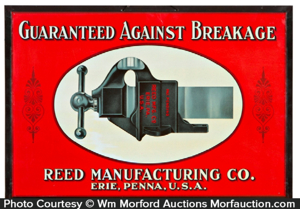 Reed Manufacturing Sign