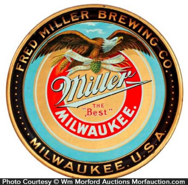 Miller Brewing Tray