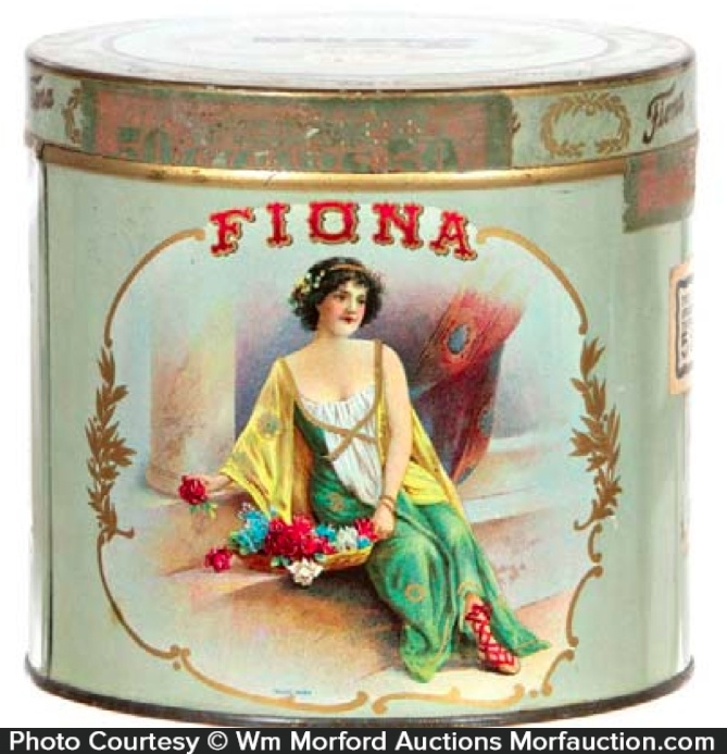 Fiona Cigar Tin