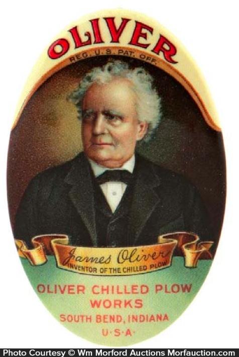 Oliver Plows Pocket Mirror