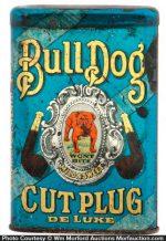 Bull Dog Cut Plug Tobacco Tin