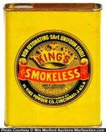 King's Smokeless Gunpowder Tin