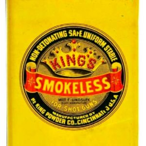 King's Smokeless Gunpowder Tin