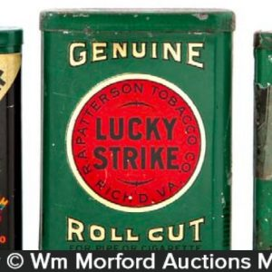 Lucky Strike Tobacco Sample Tins