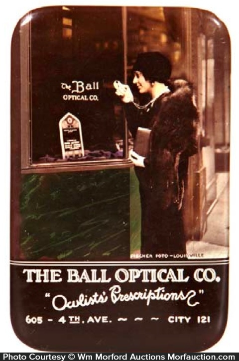 Ball Optician Mirror