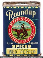 Roundup Spice Tin