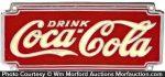 Coca-Cola Chrome Sign