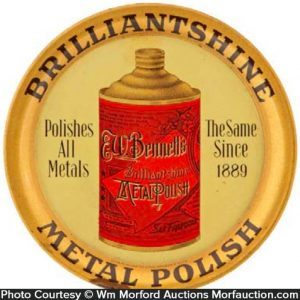 Brilliantshine Metal Polish Tray
