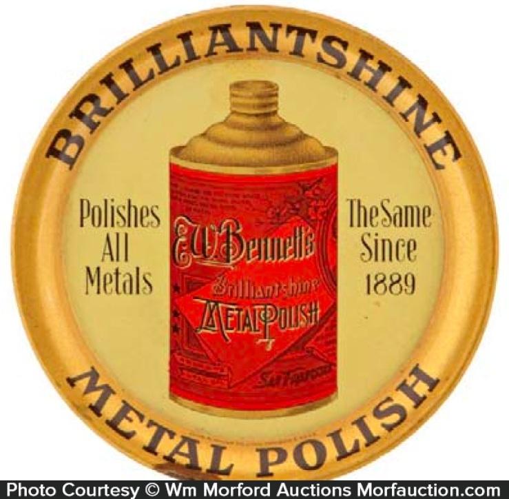 Brilliantshine Metal Polish Tray