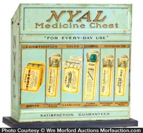 Nyal Medicine Display Tin