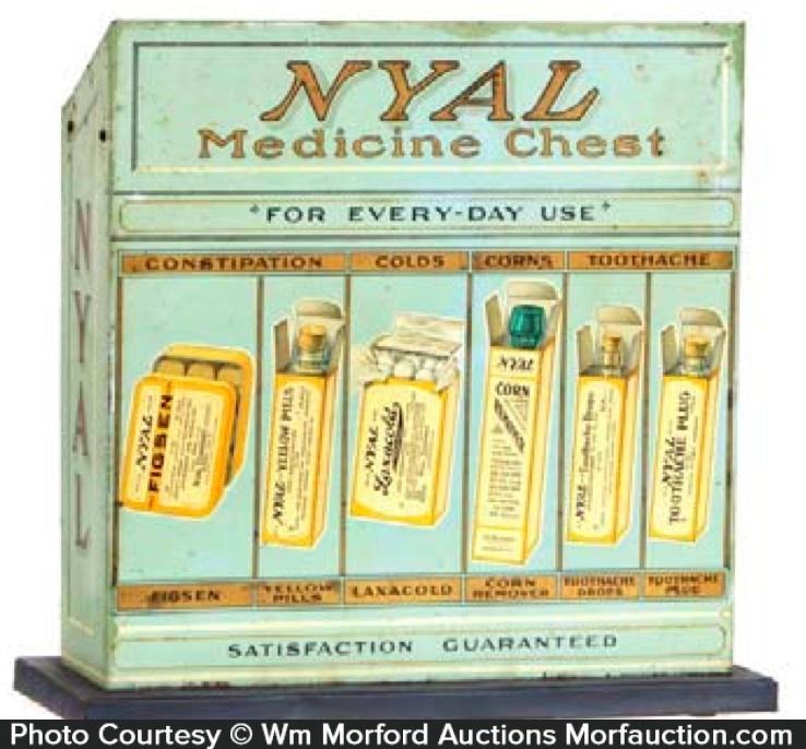 Nyal Medicine Display Tin