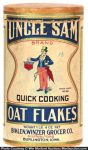 Uncle Sam Oat Flakes Box