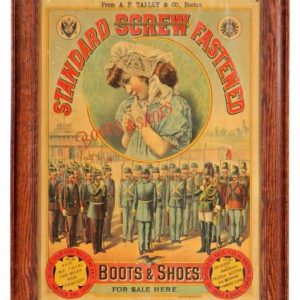 Standard Screw Boots & Shoes Sign