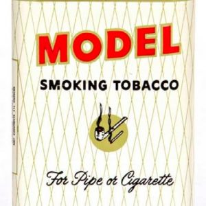 Model Tobacco Tin