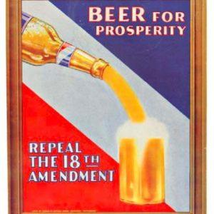 Beer For Prosperity Sign