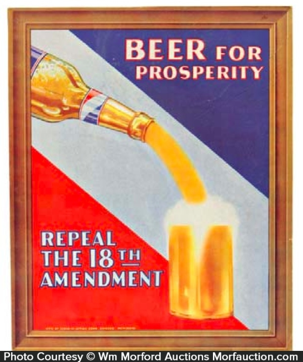 Beer For Prosperity Sign