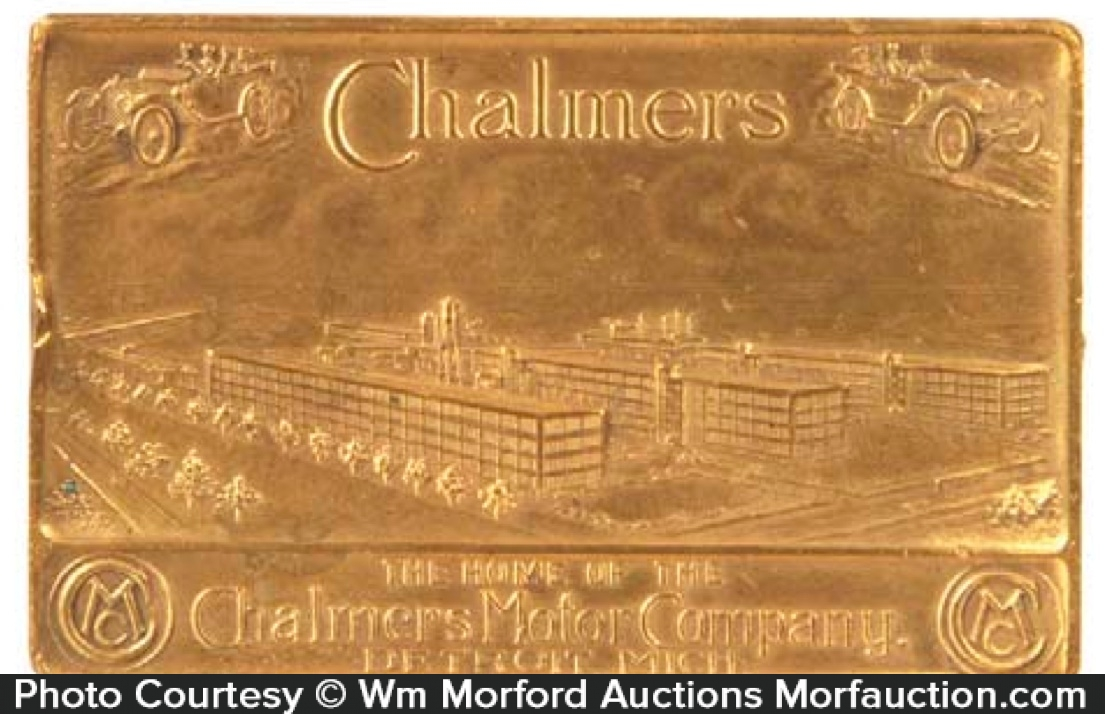 Chalmers Autos Paperweight