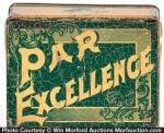 Par Excellence Tobacco Tin