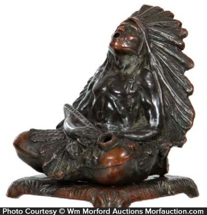 Bronze Indian Incense Burner