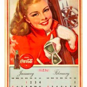 1947 Coke Calendar