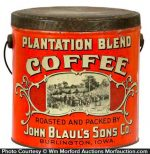 Plantation Coffee Pail