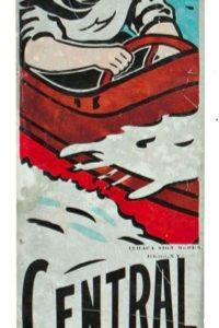 Central Hardware Speedboat Sign