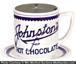 Johnston's Chocolate Syrup Dispenser