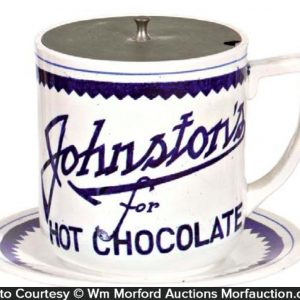 Johnston's Chocolate Syrup Dispenser