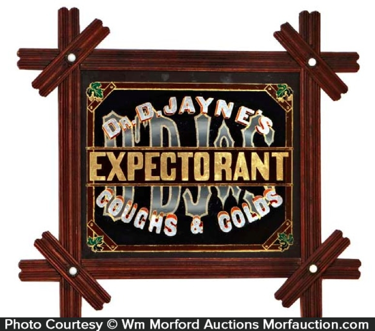 Dr. Jayne's Expectorant Sign