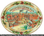 Anheuser-Busch Beer Tray