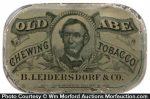 Old Abe Tobacco Tin