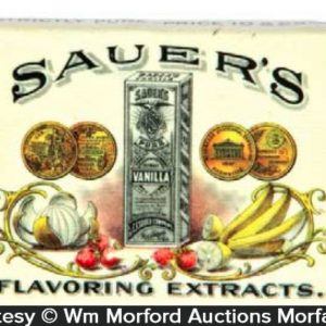 Sauer's Extracts Match Safe