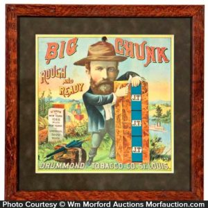 Big Chunk Tobacco Sign