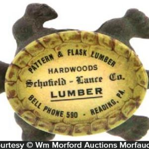 Pattern & Flask Lumber Advertising Turtle