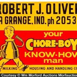 Chore-Boy Dairy Sign