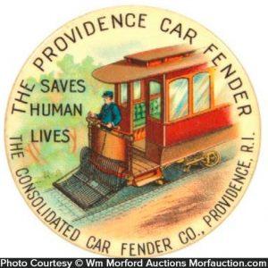 Providence Car Fender Pocket Mirror