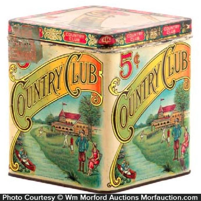 Country Club Cigar Tin