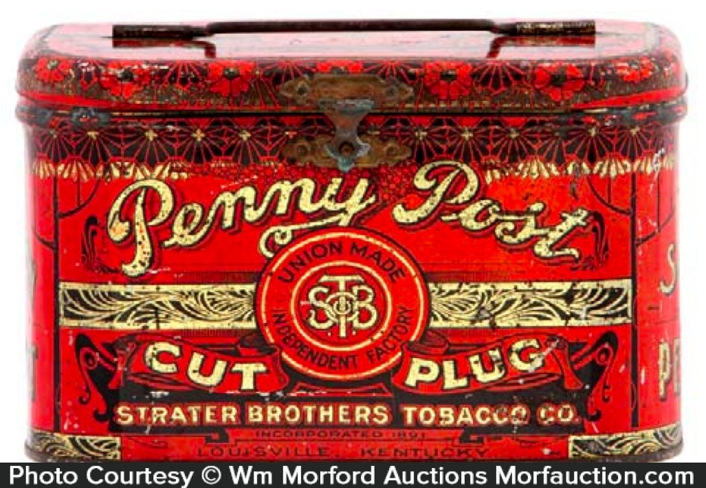 Penny Post Tobacco Tin
