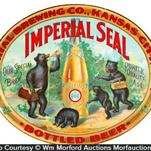 Imperial Seal Beer Tray