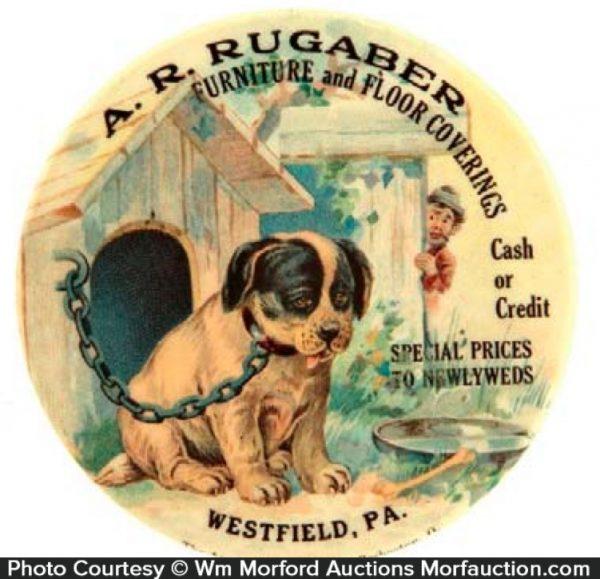 Rugaber Pocket Mirror