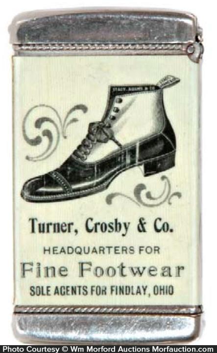 Turner Crosby Footwear Match Safe