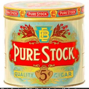 Pure Stock Cigar Can