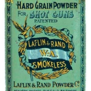 Laflin & Rand Gunpowder Tin
